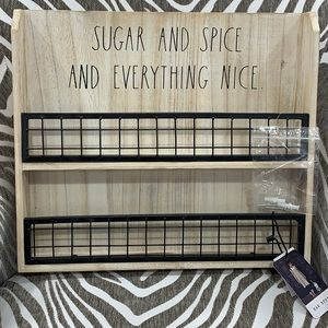 Rae Dunn Sugar and Spice and everything nice new